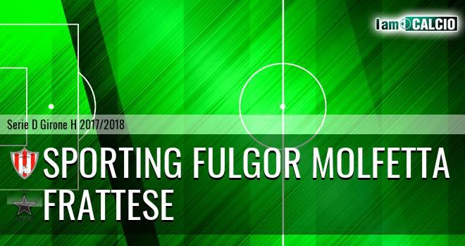 Sporting Fulgor Molfetta - Frattese