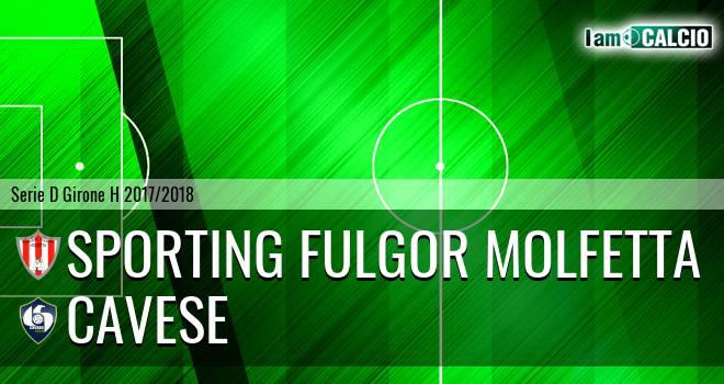 Sporting Fulgor Molfetta - Cavese