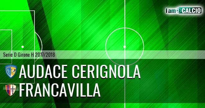 Audace Cerignola - Francavilla