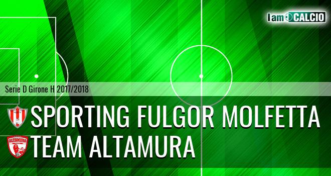 Sporting Fulgor Molfetta - Team Altamura