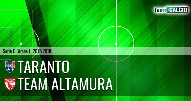 Taranto - Team Altamura
