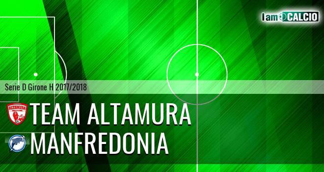 Team Altamura - Manfredonia Calcio 1932