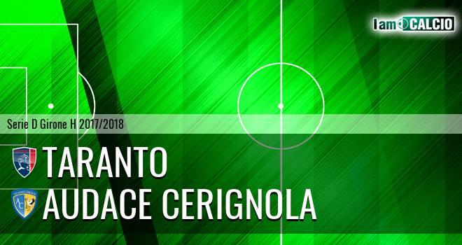 Taranto - Audace Cerignola