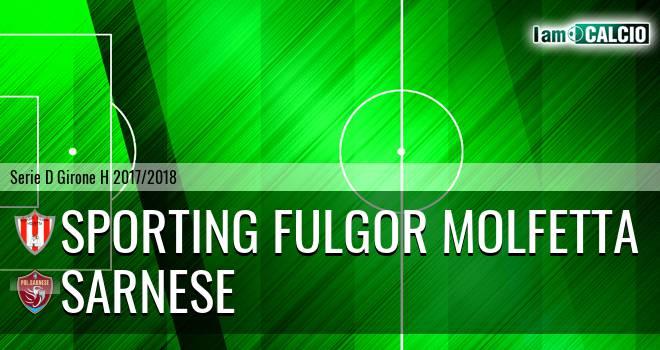 Sporting Fulgor Molfetta - Sarnese
