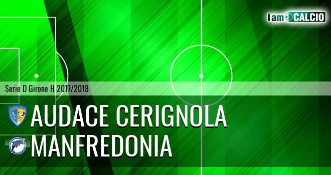 Audace Cerignola - Manfredonia Calcio 1932