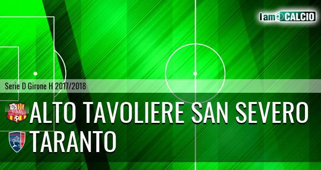 Alto Tavoliere San Severo - Taranto