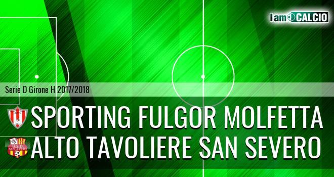 Sporting Fulgor Molfetta - Alto Tavoliere San Severo