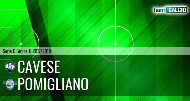 Cavese - Pomigliano 3-0. Cronaca Diretta 25/02/2018