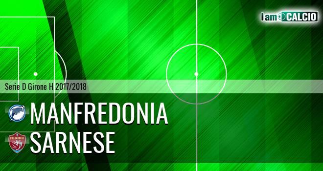 Manfredonia Calcio 1932 - Sarnese