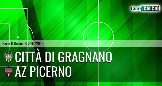Città di Gragnano - AZ Picerno 1-0. Cronaca Diretta 04/04/2018