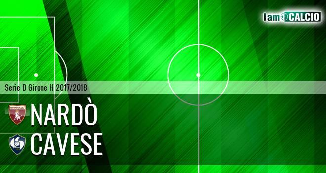Nardò - Cavese 0-1. Cronaca Diretta 25/03/2018