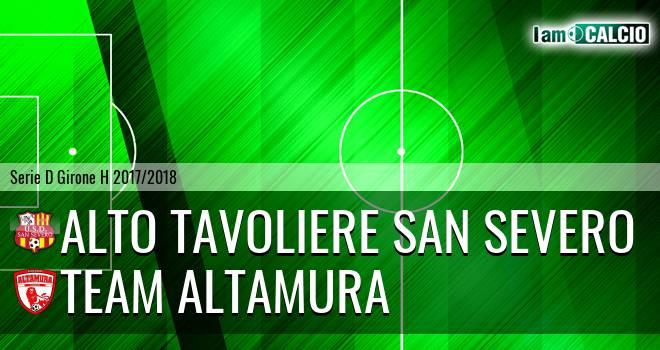 Alto Tavoliere San Severo - Team Altamura