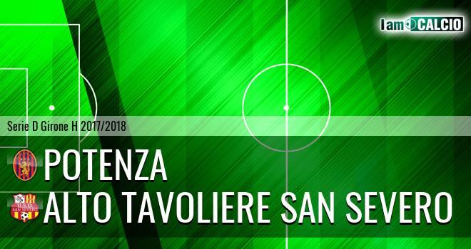 Potenza - Alto Tavoliere San Severo 1-0. Cronaca Diretta 29/03/2018