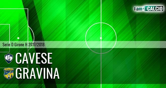 Cavese - Gravina 2-0. Cronaca Diretta 29/03/2018