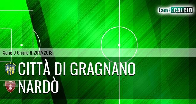 Città di Gragnano - Nardò 1-1. Cronaca Diretta 29/03/2018