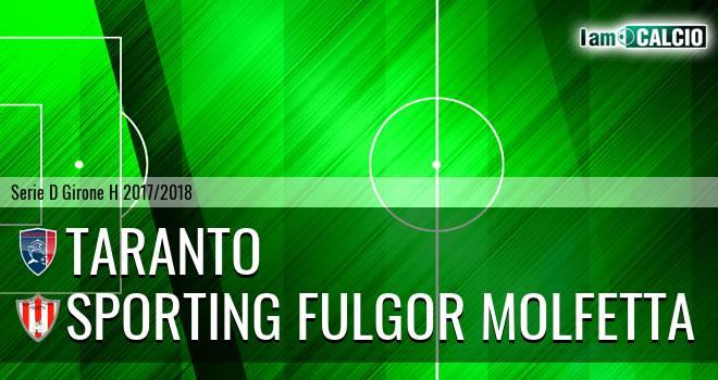 Taranto - Sporting Fulgor Molfetta