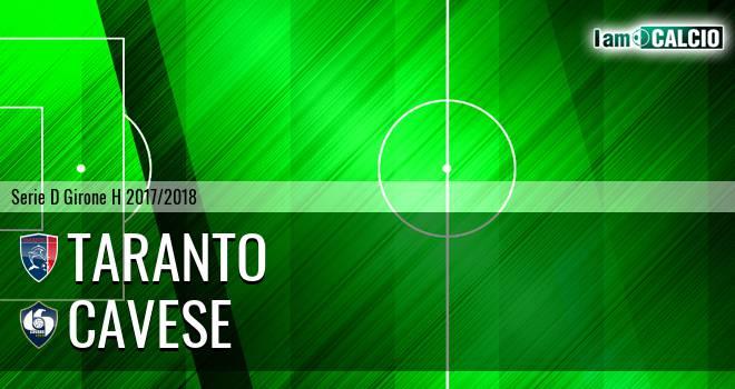 Taranto - Cavese 2-1. Cronaca Diretta 08/04/2018