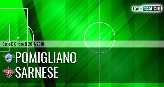Pomigliano - Sarnese 1-1. Cronaca Diretta 09/04/2018