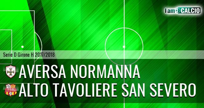 Aversa Normanna - Alto Tavoliere San Severo 2-0. Cronaca Diretta 15/04/2018