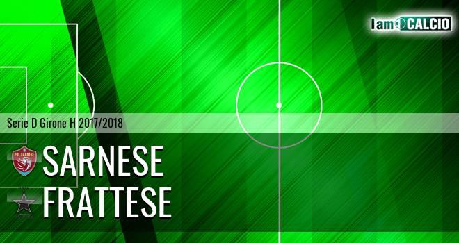 Sarnese - Frattese 0-1. Cronaca Diretta 15/04/2018