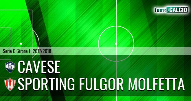Cavese - Sporting Fulgor Molfetta 4-1. Cronaca Diretta 15/04/2018