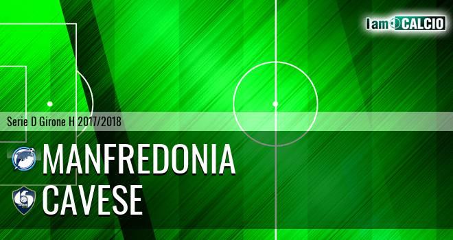 Manfredonia Calcio 1932 - Cavese