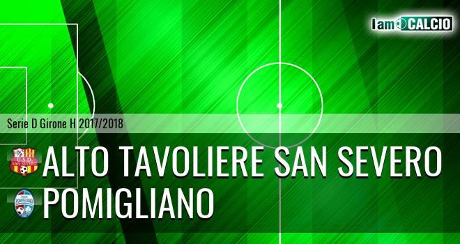 Alto Tavoliere San Severo - Pomigliano
