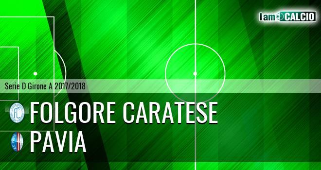 Folgore Caratese - Pavia