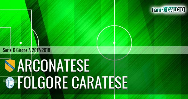 Arconatese - Folgore Caratese