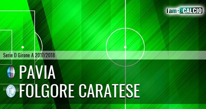Pavia - Folgore Caratese