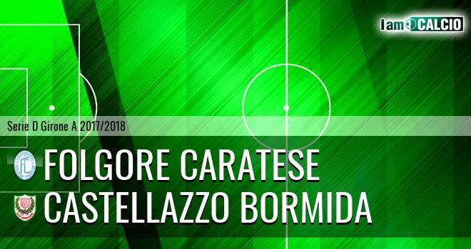 Folgore Caratese - Castellazzo Bormida