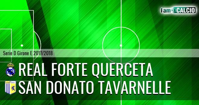 Real Forte Querceta - San Donato Tavarnelle