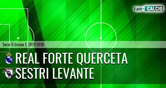 Real Forte Querceta - Sestri Levante