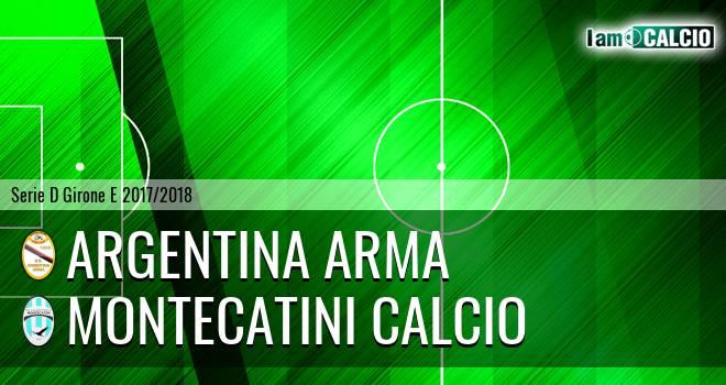 Argentina Arma - Valdinievole Montecatini