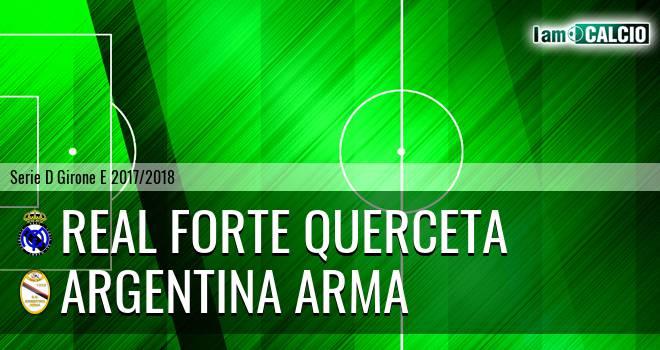 Real Forte Querceta - Argentina Arma
