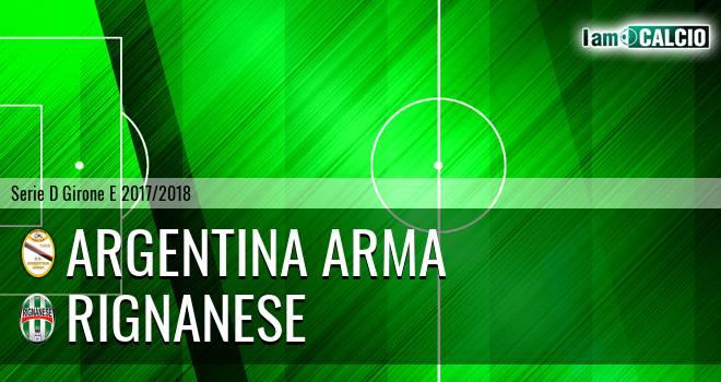 Argentina Arma - Rignanese