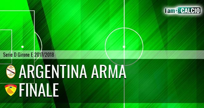 Argentina Arma - Finale