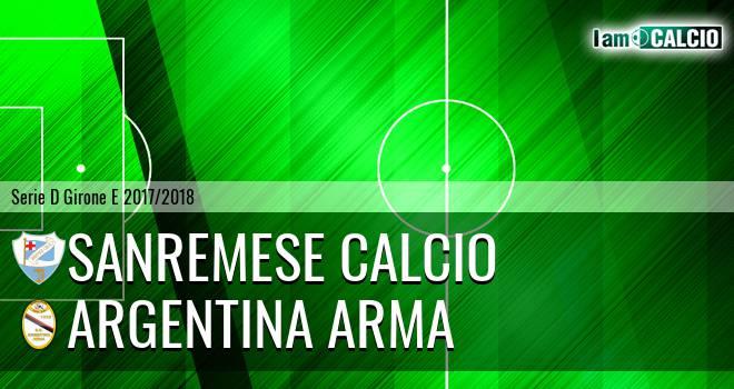 Sanremese - Argentina Arma