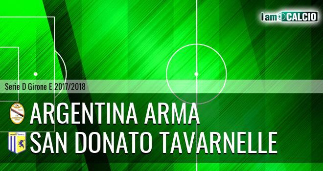 Argentina Arma - San Donato Tavarnelle