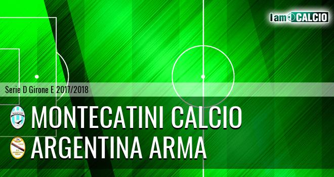 Valdinievole Montecatini - Argentina Arma
