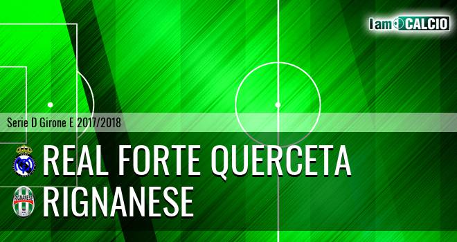 Real Forte Querceta - Rignanese