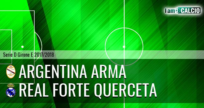 Argentina Arma - Real Forte Querceta