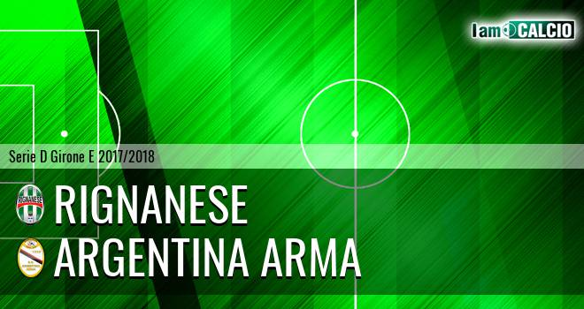 Rignanese - Argentina Arma