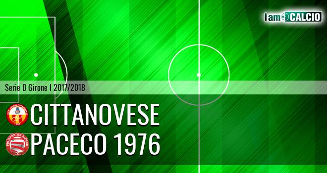 Cittanovese - Paceco