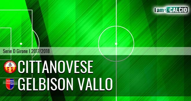 Cittanovese - Gelbison Vallo