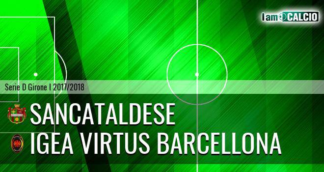 Sancataldese - Igea Virtus Barcellona
