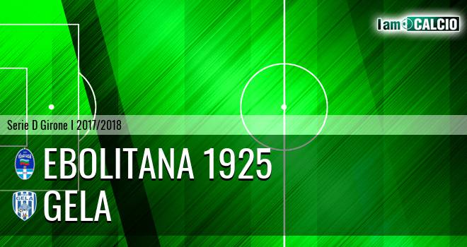 Ebolitana 1925 - Gela 0-1. Cronaca Diretta 18/02/2018
