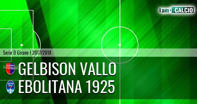 Gelbison Vallo - Ebolitana 1925 1-1. Cronaca Diretta 29/03/2018