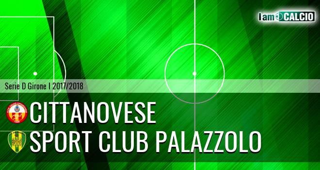 Cittanovese - Sport Club Palazzolo