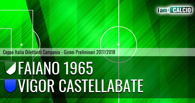 Faiano 1965 - Vigor Castellabate